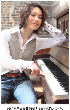 ピアノと若村麻由美
